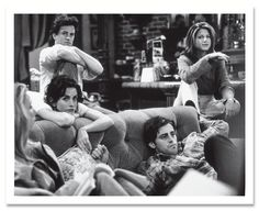 Photos: Photos: On Set with *Friends* Back in the Mid-1990s