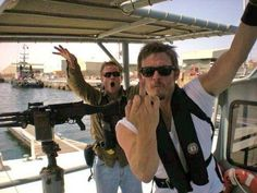 Boats. | 28 Issues Norman Reedus Doesn't Give A F