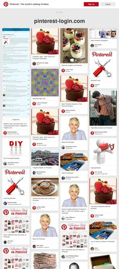 An example of high ranking of snapito.com screenshot pins in Pinterest search results: 'https://www.pinterest.com/source/pinterest-login.com/' web page snapped on Snapito.com