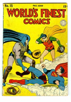 1944 - Before our comic book' heroes were turned into darker characters by modern writers