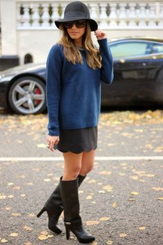 Are U Ready Boots – Black Knee High Boots