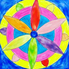 Mandala de plastilina Nakiplast