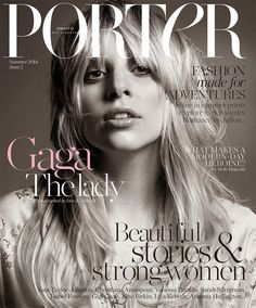 Lady Gaga / Porter Magazine / Summer '14