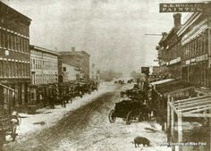 Our future home will be on Water Street, Elmira, NY - early Snow Pictures, Time Pictures, Great Pictures, Old Pictures, Old Photos, Vintage Photos, Historical Photos, Wonderful Places, American History