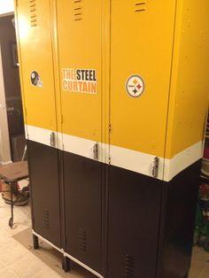 Steelers Bedroom Ideas steelers man cave ideas | fan-man cave, detached garage turned