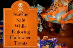 Halloween: Staying Safe While Eating Sweets safe halloween Spooky Food, Spooky Treats, Preschool Themes, Activities For Kids, Halloween Candy, Halloween Decorations, Pumpkin Carving Tips, Seasonal Allergies, Books