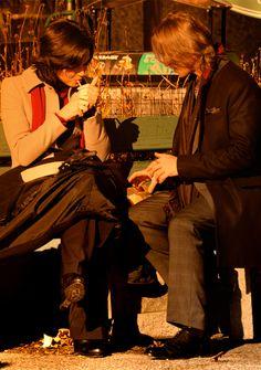 Lana Parrilla and Robert Carlyle
