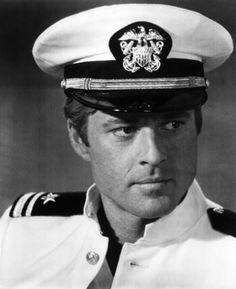 Robert Redford, in uniform.....