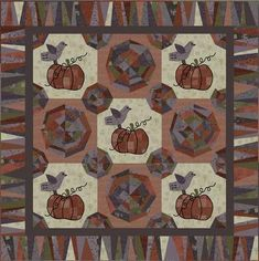 fall quilt - free pattern here
