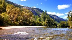 Epic summer day on the water. Kettle River Fishing Adventures. Kettle River near Curlew, WA.