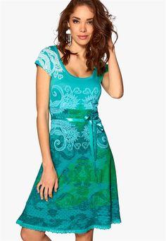Desigual Liz Dressплатье,расклешенное,женское,мода,летнее платье