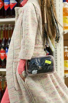 O supermercado cheio de estilo da Chanel  Fall 2014! #chanel #fall #2014 #inverno #supermercado #karllagerfeld