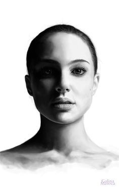 Portrait Natalie Portman | Adobe Photoshop CS 6