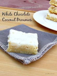 White Chocolate Coconut Brownies | Community Post: 13 AMAZING COCONUT RECIPES YOU MUST TRY!