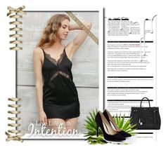 """MINI LACE DRESS"" by simpleeofficial ❤ liked on Polyvore featuring Arche, Yves Saint Laurent, JustFab and Nivea"