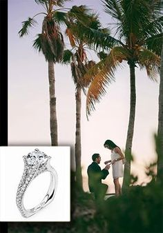 A stunning dream to remember!   Modern design & breathtaking detail, Lauray's is proud to introduce its newest collection Michael M. engagement rings