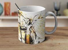 Mercy Overwatch Mug Overwatch Coffee Mug Color Changing Mug Magic Mug OV-6 #Handmade