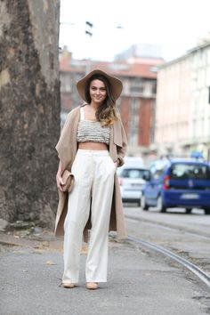 Boho Inspiration  from Milan Fashion Week
