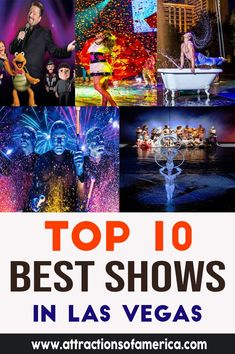 Top 10 best shows in Las Vegas. Home of the biggest shows on Earth, Vegas has something for everyone. You will be wowed, amazed, shocked, and entertained more than you have ever been in your life. Travel Advise, Travel Guide, Amazing Destinations, Travel Destinations, Las Vegas With Kids, What Is Great, Beatles Love, Las Vegas Blvd