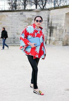 Comme des Garcons | StreetStyle - Lelook (Paris FW)