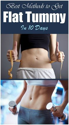 How to Get #FlatTummy in 10 Days..