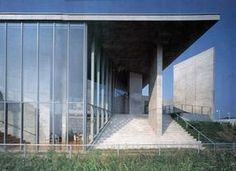 Picture Book Museum, Iwaki City, Fukushima, Japan, Tadao Ando - architect