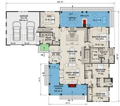 Modern Farmhouse Perfection with Rustic Charm - 14664RK | Architectural Designs - House Plans