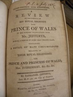 Just like the tabloids of today, a person's character, especially the heir to the throne, is open to gossip.  The pamphlets were used to debate the appropriate behaviour of the Prince of Wales and his mistress