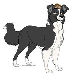 Cartoon Dog Drawing, Cute Dog Drawing, Cute Animal Drawings, Animal Sketches, Cartoon Art, Cute Drawings, Anime Animals, Cute Animals, Dog Drawing Tutorial