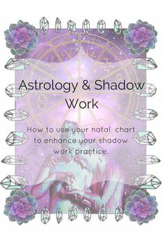 A few simple ideas on how you can use your natal chart to uncover more in your shadow work.