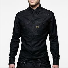 Modernist work shirt  G-STAR. Something about this shirt....