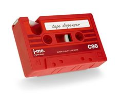 Cassette Tape Holder & Tape Dispenser - The Quick Gift
