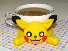 Coasters for drinks Pokemon Pikachu Stand for the cup Cup Stands Cup pad…