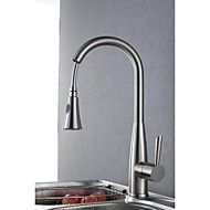 Kitchen Faucet Contemporary Pullout Spray Brass Nickel Brushed. Save up to 80% Off at Light in the Box with Coupon and Promo Codes