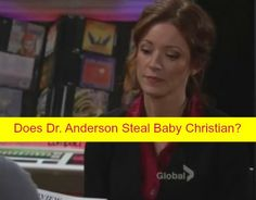 The Young and the Restless (Y&R) Spoilers: Who Is Dr. Anderson – Kidnaps Christian Passes Off Sage's Baby as Sharon's?