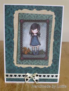 Gorjuss, Handmade Card