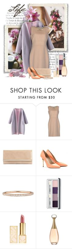 """""""30.10.15"""" by lady-lady ❤ liked on Polyvore featuring Blumarine, Jimmy Choo, Nicholas Kirkwood, Mattia Cielo, Clinique and Tory Burch"""