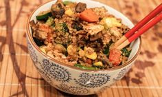quinoa veggie fried rice