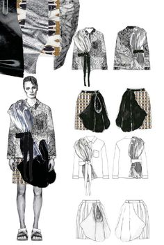 We've gathered our favorite ideas for Fashion Sketchbook Fashion Illustration And Flat Drawings, Explore our list of popular images of Fashion Sketchbook Fashion Illustration And Flat Drawings in collage fashion sketches. Fashion Illustration Collage, Illustration Mode, Fashion Collage, Fashion Painting, Fashion Art, Fashion Illustrations, Mode Portfolio Layout, Fashion Portfolio Layout, Fashion Design Sketchbook