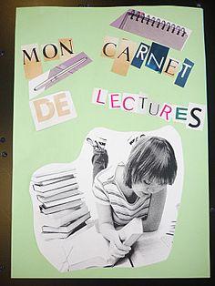 CARNETS DE LECTURE - Le principe du… - Des exemples de… - Le blog de cdi collège Bernanos Montigny Lectures, Book Art, Blog, Metz, Education, Cycle 3, Information, Promotion, Films