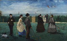 Kroket Partisi, 1871, The Nelson-Atkins Museum of Art, Kansas City, ABD.