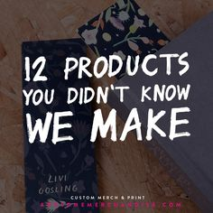 BLOG: Ever wondered which products we get asked for that we can actually make? Check this out: http://awsmr.ch/12PRDCTS
