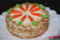 Tarta de zanahoria.