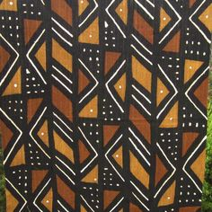 Cocktail Napkins Mud Cloth Tribal African Traditional Aztec Western Set of 4