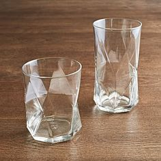 Bormioli Rocco Cassiopeia Glassware (Set of 6) #westelm - So in love with these glasses