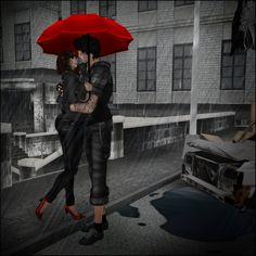 I like umbrellas but not rain ..