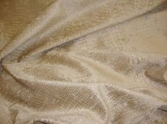 Sand Crocodile Upholstery chenille Fabric per yard
