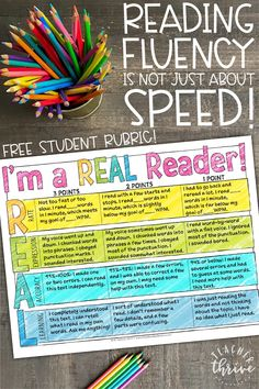 Reading Fluency Activities, Reading Assessment, Teaching Reading, Guided Reading, Free Reading, Reading Intervention Activities, Reading Comprehension, Reading Resources, Learning