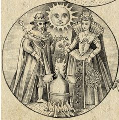 The Alchemyst (emblemata depicting stages of alchemical work) by Sveta Dorosheva, Israel