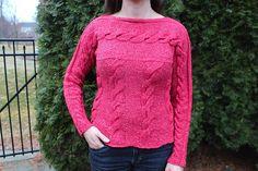Ravelry: Winterberry Pullover pattern by Karen Gietzen
